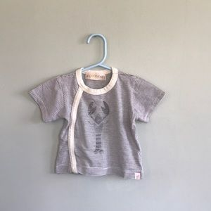 Go Gently Baby organic cotton T-shirt, 3-6 months